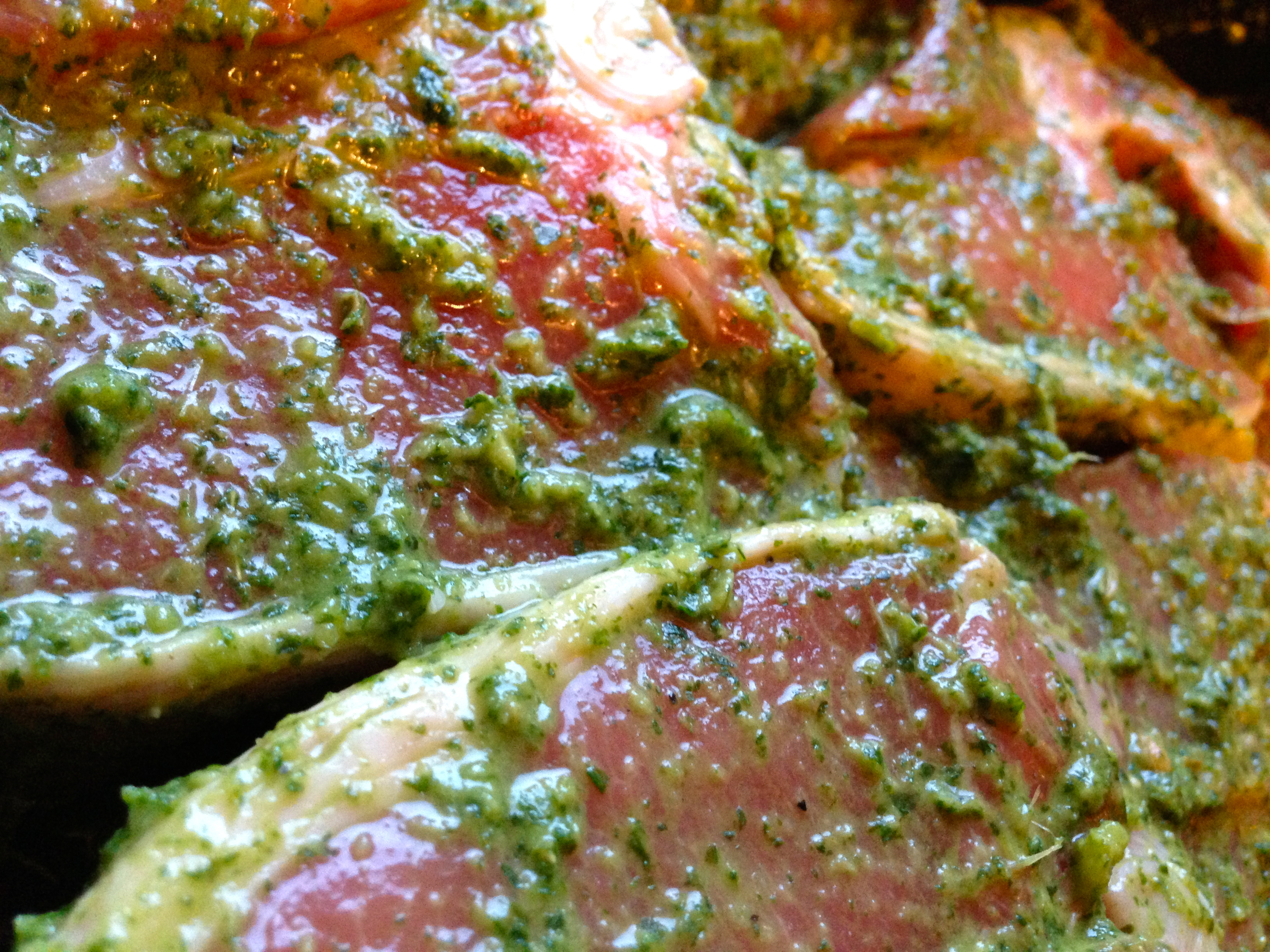 Lamb Chops with Mint, Coriander and Tamarind – marinade | Nick's ...